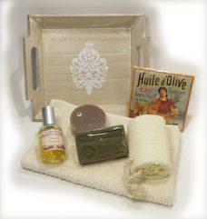 geschenkpakket bio, natuurlijke parfum, natuurlijke zeep