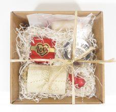 Anti stress geurkaars, Olijfzeep, Love You cadeaupakket, geschenkset liefde, natuurlijke olijfzeep, konjac spons