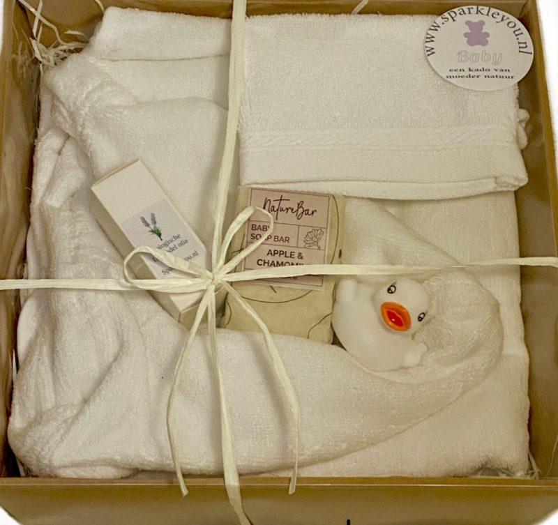 geboortecadeau natuurlijke zeep