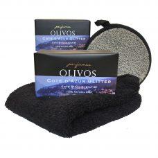Olivos Cote D'Azur Glitter, natuurlijke zeep, Natuurlijke olijfzeep