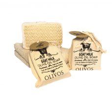 Olivos geitenmelk zeep, Natuurlijke zeep, 100% natuurlijke zeep
